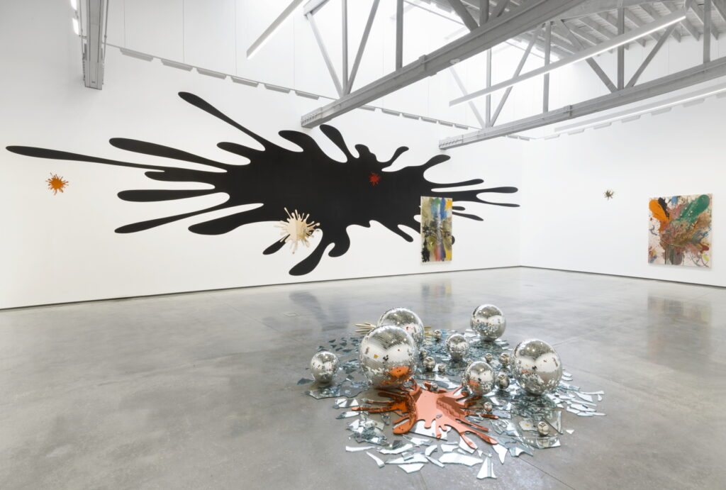 Immerse yourself in an explosion of contemporary art