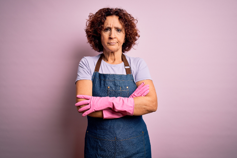 """International Women's Day – Opinion: When housework and """"real"""" work meet."""