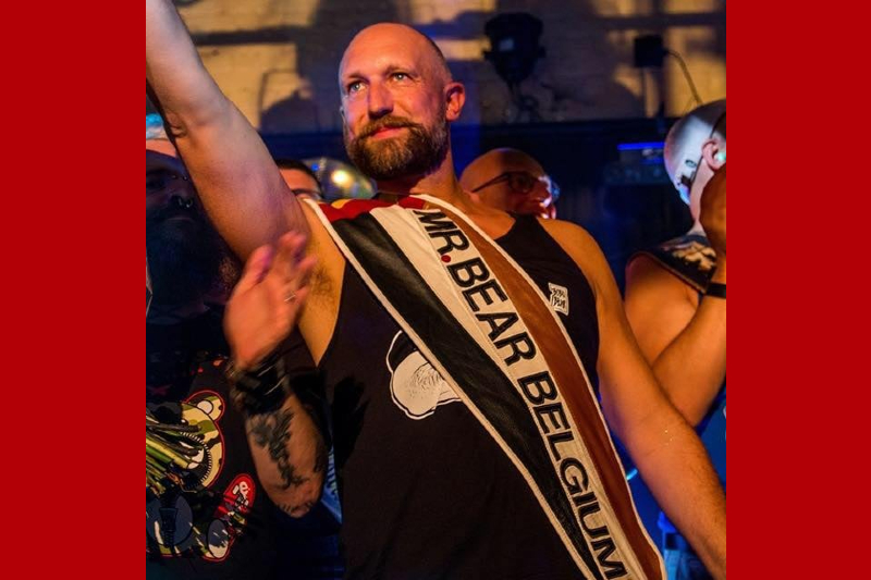 A buffet of beefy boys with bounce at Belgium Bearpride Brussels
