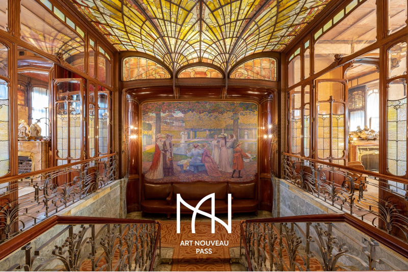 New pass enables you to immerse yourself in the Art Nouveau grandeur of Brussels