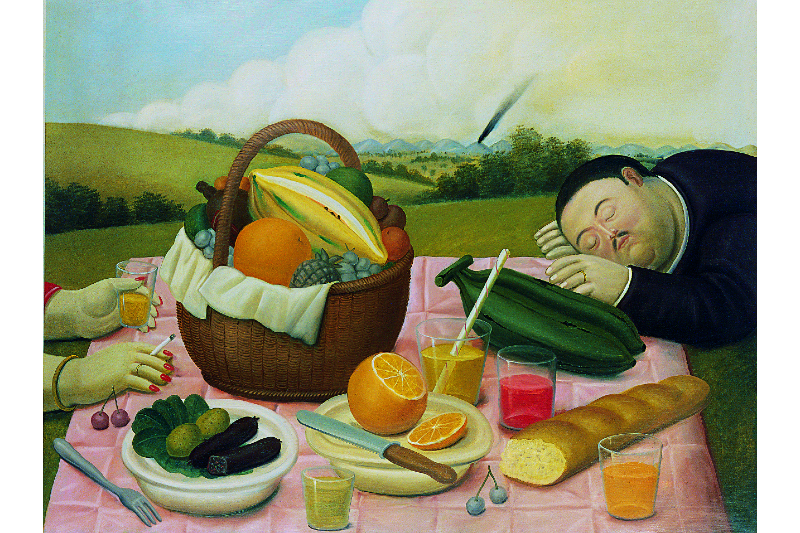 What's on: a retrospective of the work of Fernando Botero