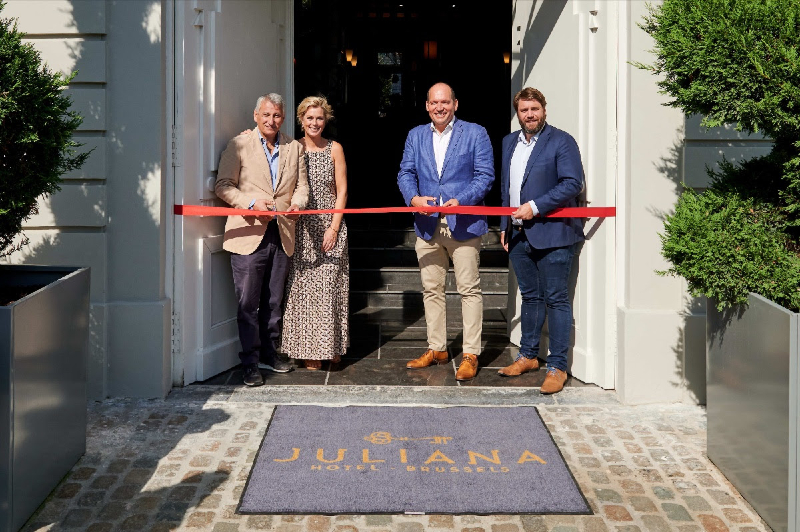 A new hotel for Brussels – Juliana Hotel opens its doors