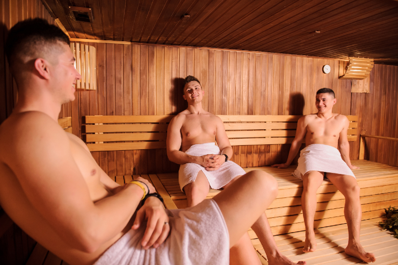 Oasis: Immerse yourself in this bathhouse with the boys of Brussels