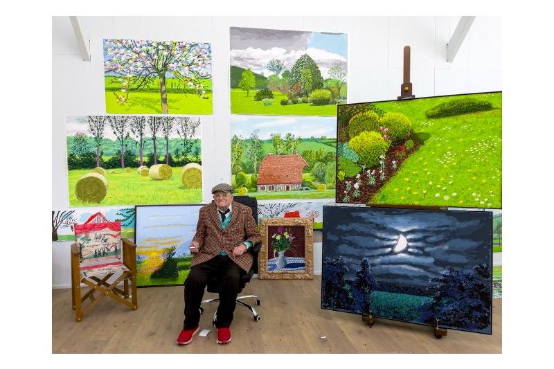 Bozar presents a major David Hockney exhibition